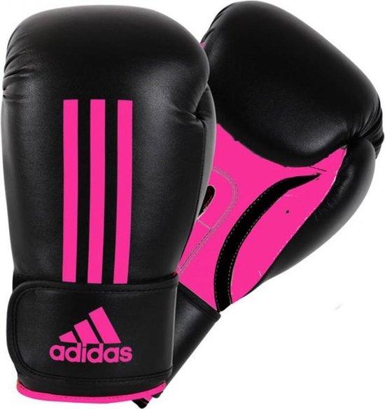 Adidas Energy 100  Bokshandschoenen - Maat 6 oz - zwart/roze