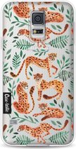 Samsung Galaxy S5 / Galaxy S5 Plus / Galaxy S5 Neo hoesje Cheetah Life Casetastic Smartphone Hoesje softcover case