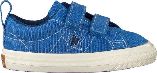 Converse Meisjes Sneakers One Star 2v Ox - Blauw - Maat 22