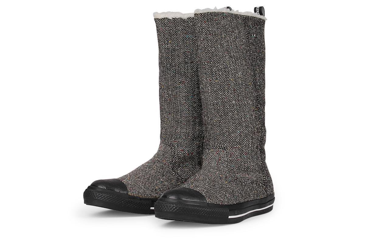 Converse - Dames Sneakers CT Lady XXHI White/Black - Grijs - Maat 39 Sneakers