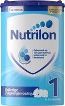 Nutrilon Volledige Zuigelingenvoeding 1 - vanaf geboorte - Flesvoeding - 800 gram