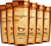 L'Oréal Paris Elvive Extraordinairy Oil Shampoo - 6x250 ml - Voordeelverpakking