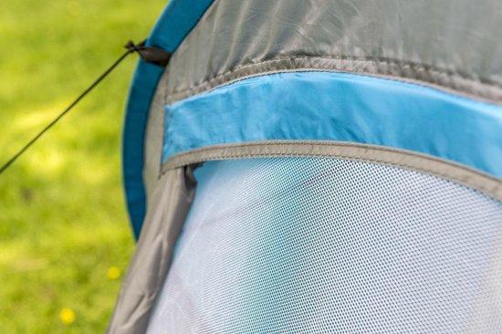 Dunlop Pop Up Tent - Blauw/ Grijs/ Wit - 2 Persoons