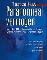 Boek cover Test zelf uw paranormaal vermogen van Martin Bensdorf