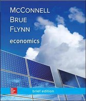 Boek cover Economics, Brief Edition van Campbell Mcconnell