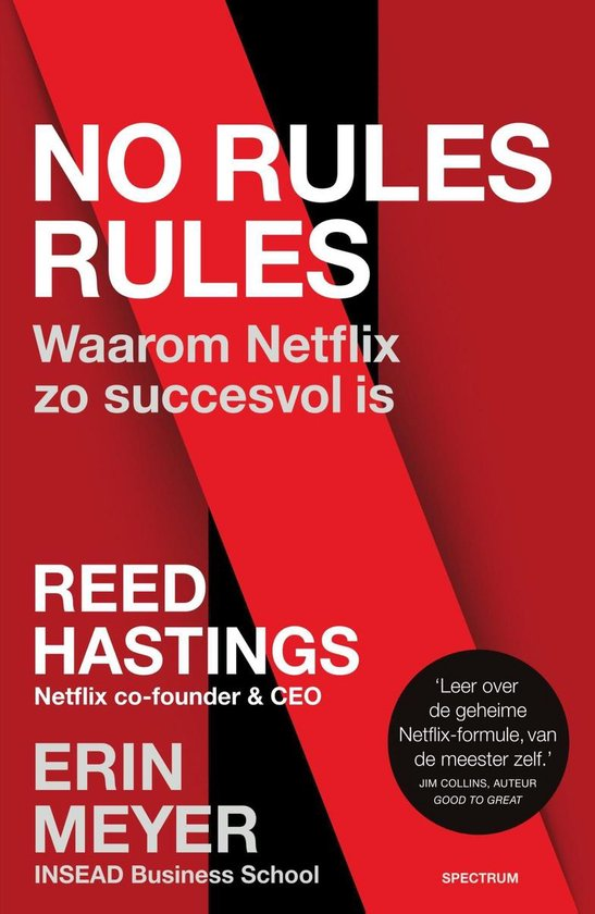 Boek cover No rules rules van Reed Hastings (Onbekend)