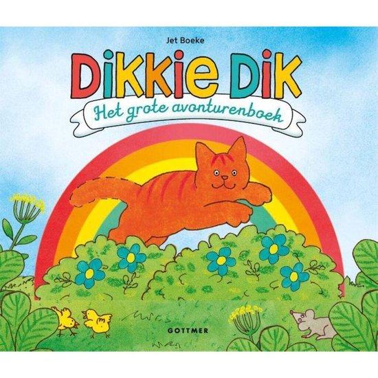 Afbeelding van Gottmer Dikkie Dik. Het grote avonturenboek. 3+ speelgoed