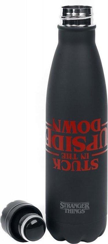 Stranger Things Stuck In The Upside Down Metale Drink Fles