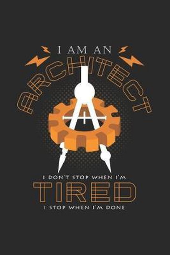 I am an architect: 6x9 Architect - grid - squared paper - notebook - notes