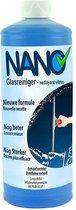 NANO - Glasreiniger - Op basis van alcohol - Voor alle soorten glas en spiegels - 1L