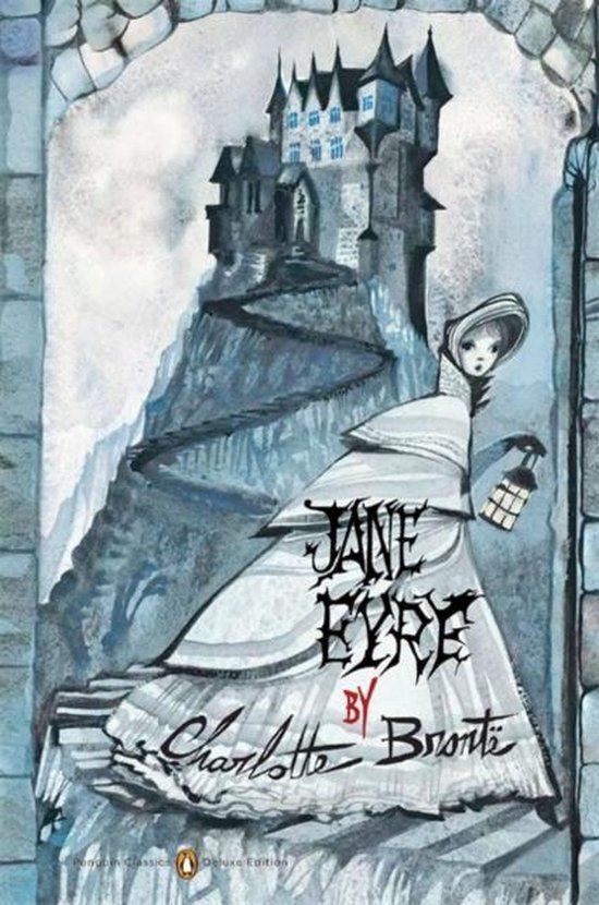 Boek cover Jane Eyre (Penguin Classics Deluxe Edition) van Charlotte Bronte (Paperback)