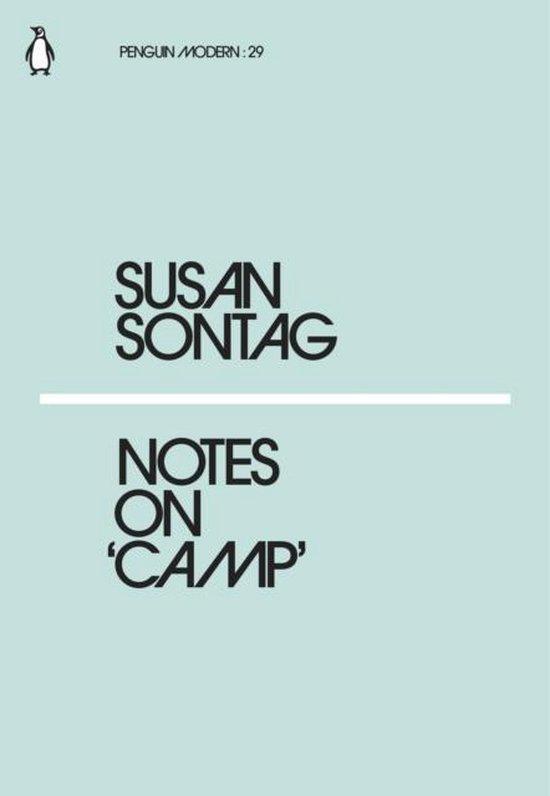 Boek cover Notes on Camp van Susan Sontag (Paperback)