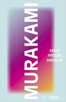 Boek cover Erste Person Singular van Haruki Murakami