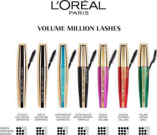 L'Oréal Paris Volume Million Lashes Excess - Black - Mascara