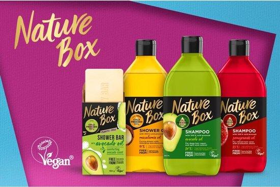 Nature Box Pomegranate Vegan Douchegel 385 ml - 6 stuks - Voordeelverpakking