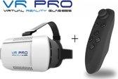 5. VR PRO Virtual Reality Glasses 3D Bril o.a. te gebruiken met Samsung Galaxy S5 / S6 / S6 edge / S6 edge plus / Note 4, Apple iPhone 6 / 6 plus, iPhone 6s /6s plus en vele andere smartphones, PRO-kwaliteit!, zwart , merk VR PRO