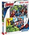 Puzzel 2X60 Avengers