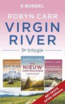 Boek cover Virgin River 3e trilogie van Robyn Carr (Onbekend)