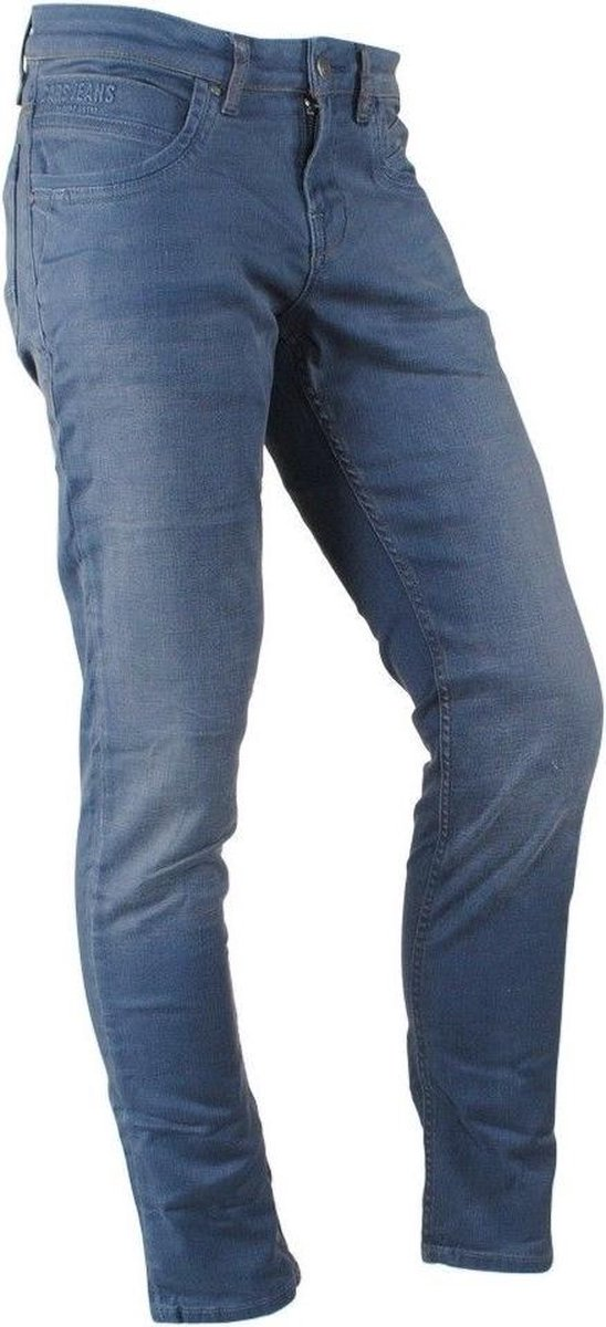 Cars Jeans - Heren Jeans - Stretch - Regular Fit - Lengte 36 - Henlow - Grijs - Blauw
