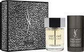Yves Saint Laurent La Nuit de L'Homme Giftset - 100 ml eau de toilette spray + 75 ml deodorant stick - cadeauset voor heren