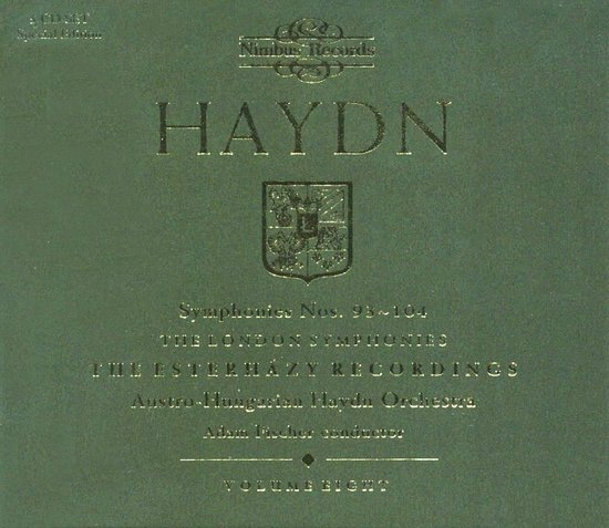 Haydn: The Symph. Vol.8 - Nos. 93-104 'London'