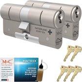 Cilinderslot M&C Matrix SKG*** (2 stuks)
