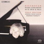 Piano Concertos in D Op.61 & No.4