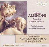 Albinoni: Complete Oboe Concerti / Robson, Standage