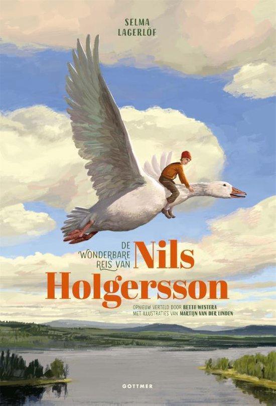 Boek cover De wonderbare reis van Nils Holgersson van Selma Lagerlöf (Hardcover)