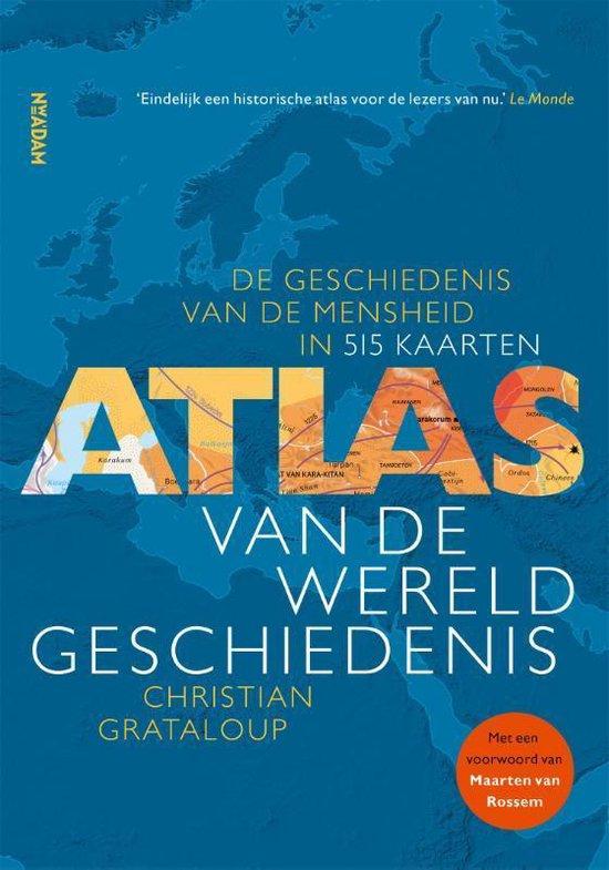 Boek cover Atlas van de wereldgeschiedenis van Christian Grataloup (Paperback)
