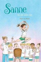 Boek cover Sanne in de selectie van Paula van Manen (Hardcover)