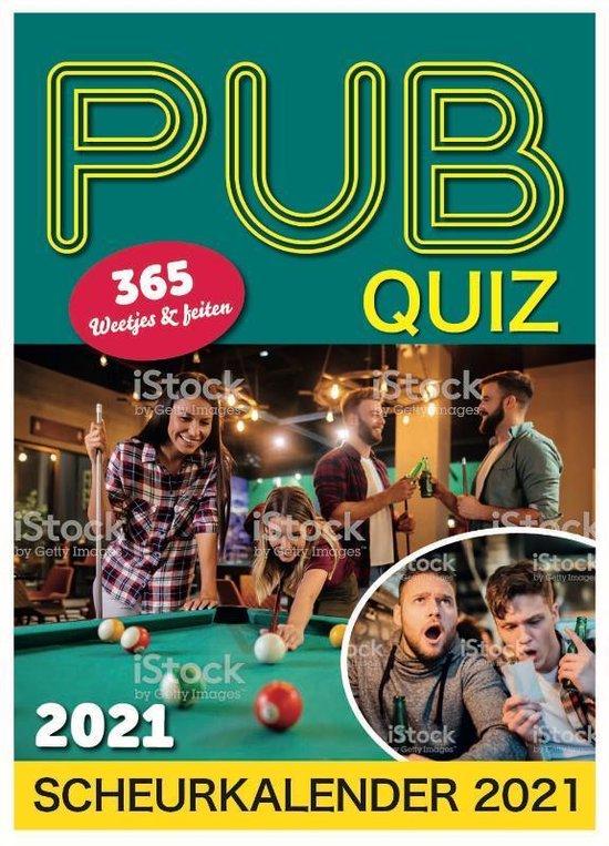 Afbeelding van Scheurkalender 2021 Pub Quiz
