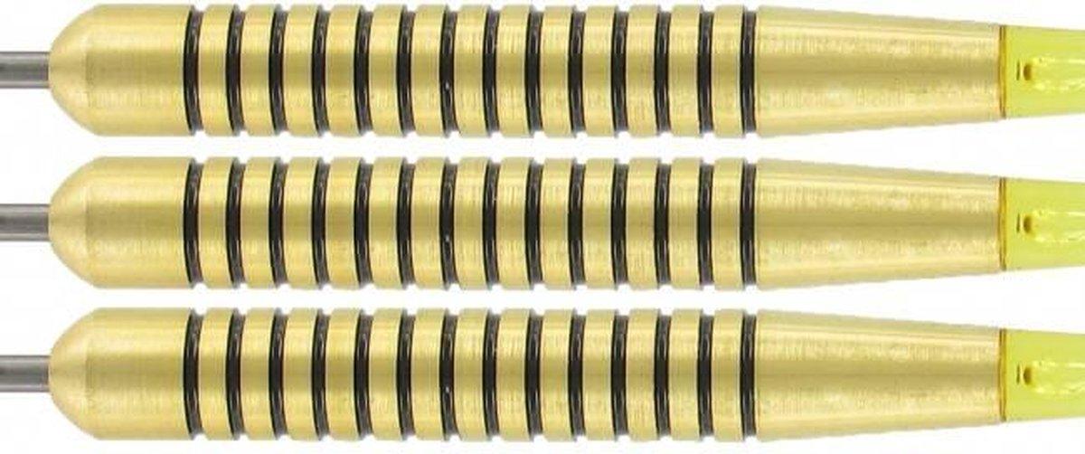 McKicks Speedy Yellow Brass - Dartpijl 20 gram