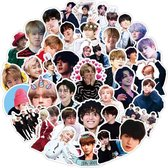 BTS - 50 BTS stickers - KPOP - BTS Kpop - BTS merchandise - BTS dynamite - BTS Kpop producten - BTS be - BTS album - BTS album be