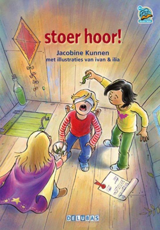 Cover van het boek 'Stoer hoor !'