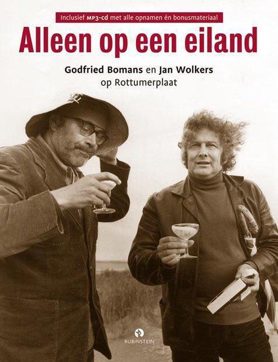 Boek cover Alleen Op Een Eiland van Jan Wolkers (Hardcover)