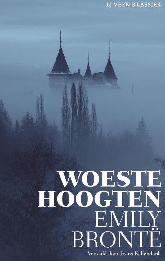 Boek cover LJ Veen Klassiek  -   Woeste Hoogten van Emily Bronte (Paperback)