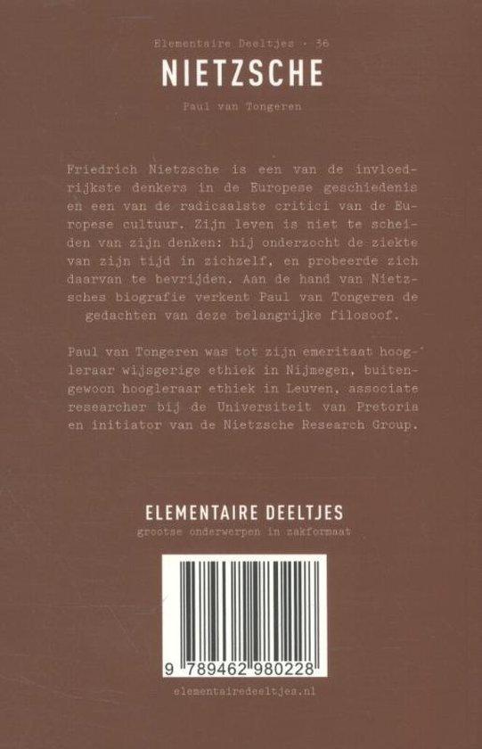 Elementaire Deeltjes 36 -   Nietzsche