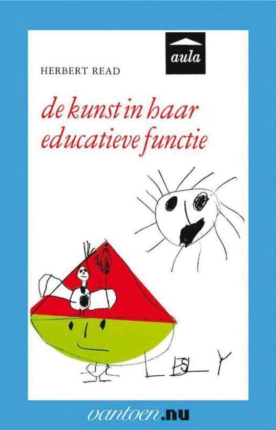 Cover van het boek 'kunst in haar educatieve functie'