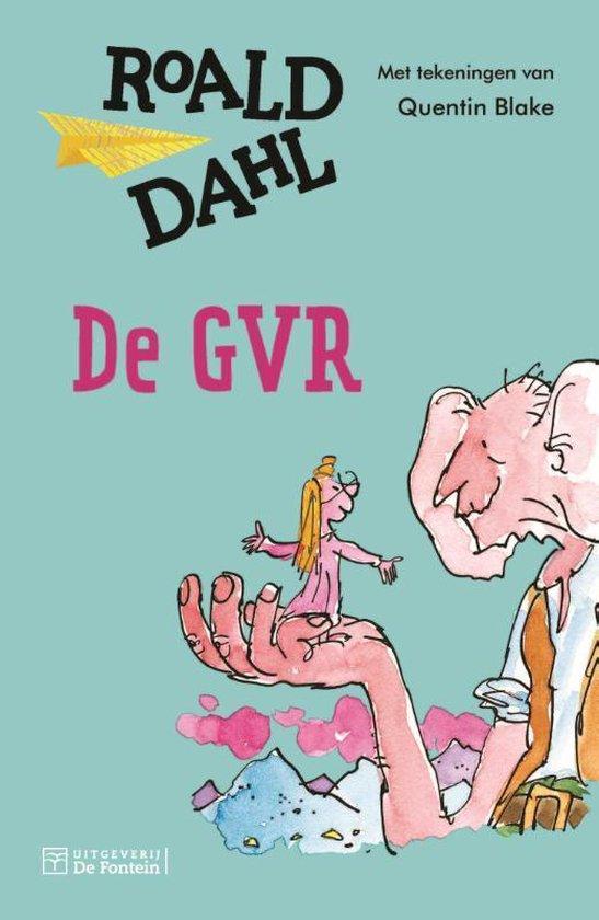 Boek cover De GVR van Roald Dahl (Hardcover)