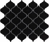 0,72m² -Mozaiek Paris Lantaarn Zwart 5,2x5,2