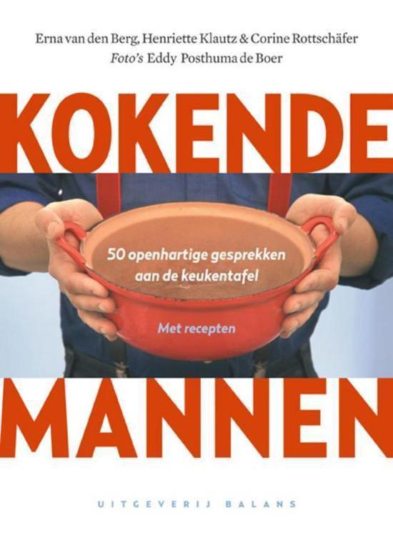 Boek cover Kokende Mannen van E. Van Den Berg (Hardcover)