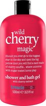 Treaclemoon Wild Cherry Magic douchegel Vrouwen Lichaam Kers 500 ml