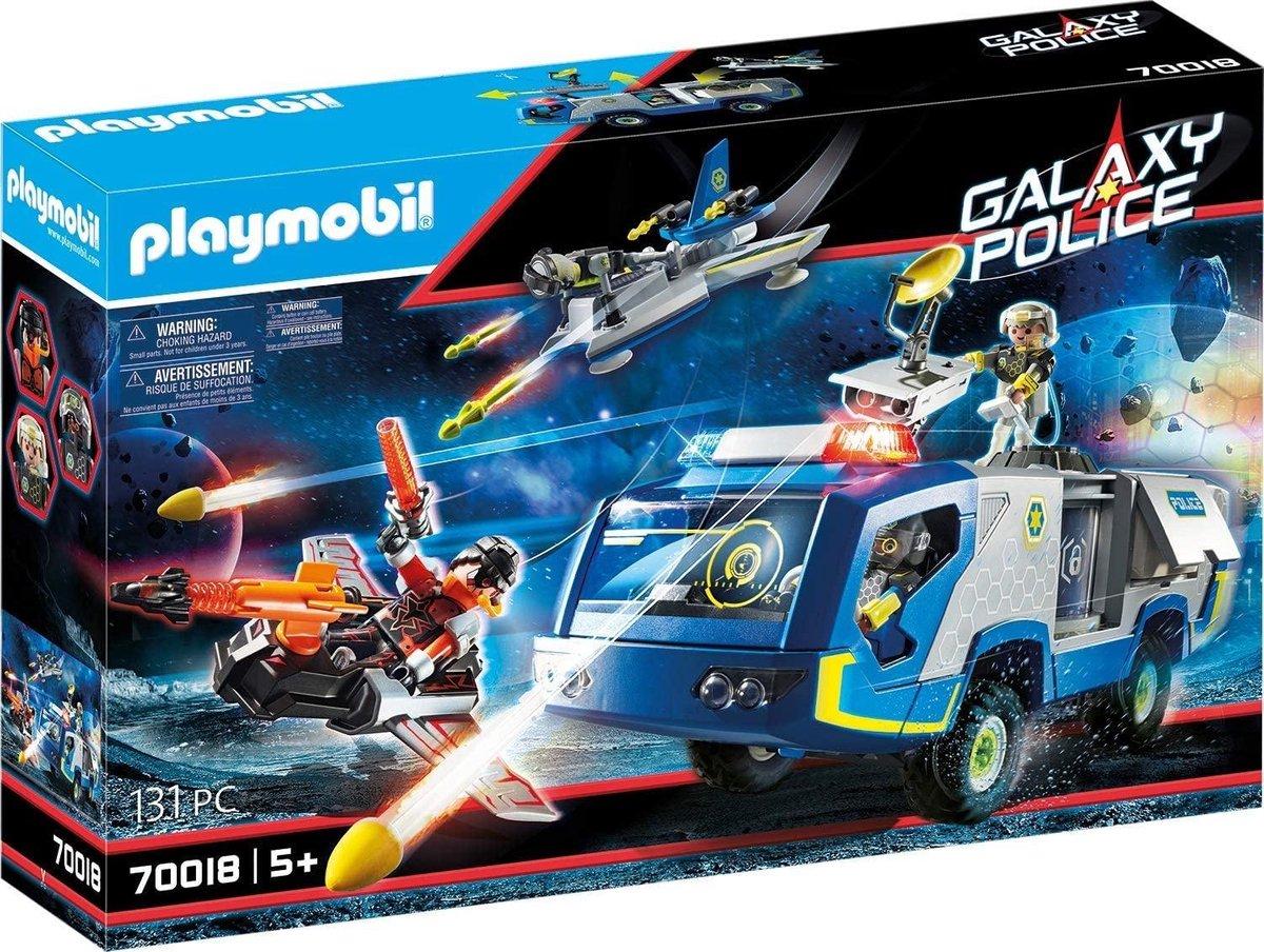 PLAYMOBIL Galaxy Police Galaxy politietruck - 70018