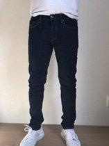MASKOVICK Heren Jeans Milano stretch SlimFit -  BlueBlack - W36 X L32