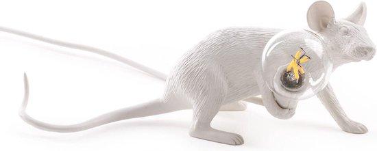 Seletti Mouse Lamp Lie Down Tafellamp