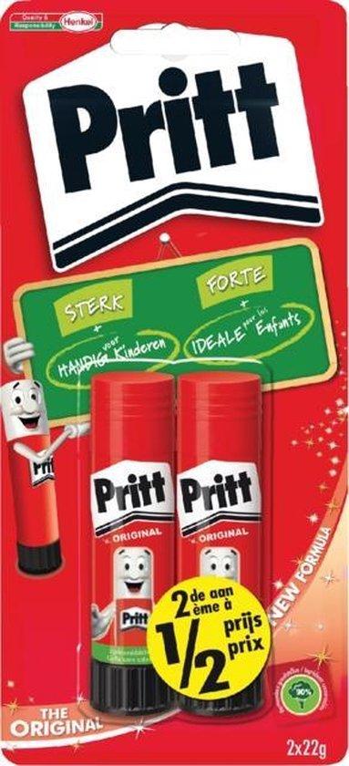 Afbeelding van Pritt Stick Original - Extra sterk - 2x22 Gram - Pritt Stift