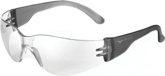 Univet veiligheidsbril 568 helder