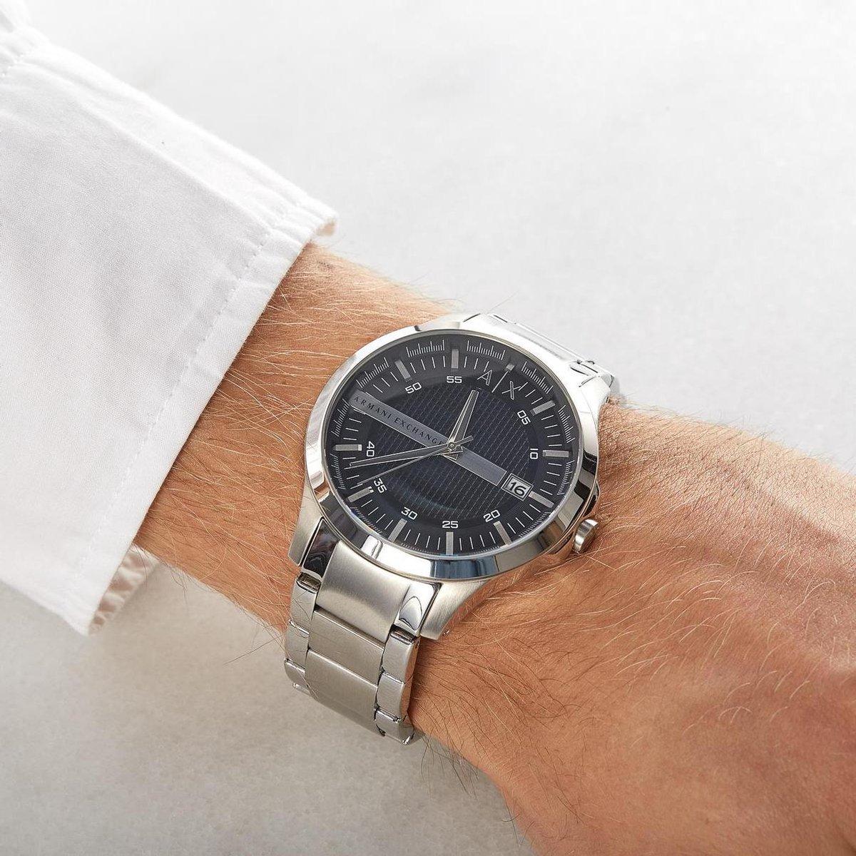 Armani Exchange Hampton AX2103 Heren Horloge - 46 mm