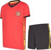 België meisjes voetbaltenue 21/22 - België tenue - België - meisjes tenue België - kids voetbaltenue - België shirt en broekje - maat 164